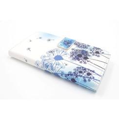 Samsung Galaxy J5 (2015) Titulaire de la carte Print Book type housse - Fermeture magnétique