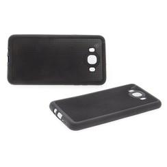 Backcover voor Samsung Galaxy J7 (2016) - Zwart