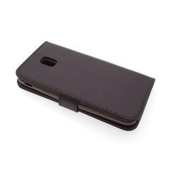 Samsung Galaxy J3 (2017) Titulaire de la carte Marron Book type housse - Fermeture magnétique