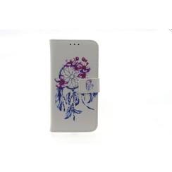 Samsung Galaxy J3 (2016) Titulaire de la carte Print Book type housse - Fermeture magnétique