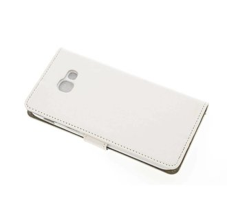 Samsung Galaxy A5 (2017) Pasjeshouder Wit Booktype hoesje - Magneetsluiting - Kunststof;TPU