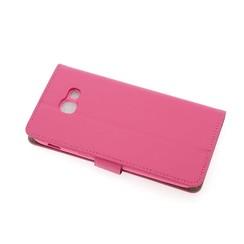 Samsung Galaxy A5 (2017) Pasjeshouder Roze Booktype hoesje - Magneetsluiting - Kunststof;TPU