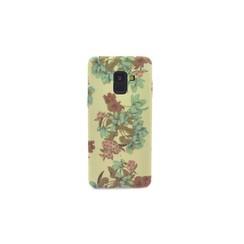 Coque pour Galaxy A8(2018) - Floral (8719273269633)
