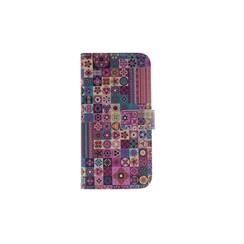 Samsung Galaxy J5 (2017) Titulaire de la carte Print Book type housse - Fermeture magnétique