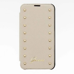 Samsung Galaxy S5 - G900F - Guess Book case - Beige
