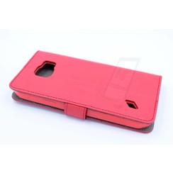 Book case voor Samsung Galaxy S6 Active  - Rood