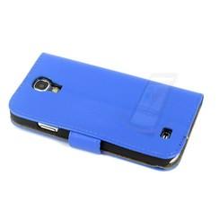 Samsung Galaxy S4 - i9505 - 1 Card holder Housse coque - Bleu