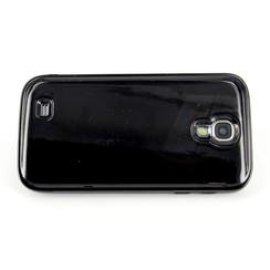 Samsung Galaxy S4 - i9505 - Luxe Stylish Flip coque - noir