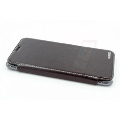 Samsung Galaxy S6 Edge+ Titulaire de la carte Noir Book type housse - Fermeture magnétique