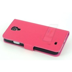 Samsung Galaxy S4 - i9505 - 1 Card holder Housse coque - rose