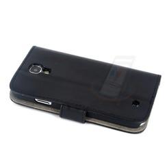 Samsung Galaxy S4 - i9505 - 1 Pashouder Boekmodel hoesje - Zwart