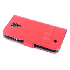 Samsung Galaxy S4 - i9505 - 1 Pashouder Boekmodel hoesje - Rood 1