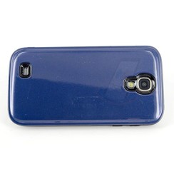 Samsung Galaxy S4 - i9505 - Luxe Stylish Hardcoque hoesje - Blauw