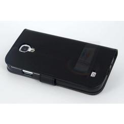 Book case voor Samsung Galaxy S4  - Zwart