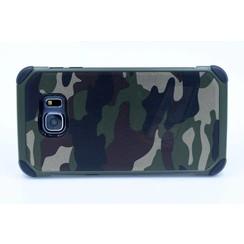 Samsung Galaxy S6 Edge Plus - G928T - Camouflage Hard coque - Green
