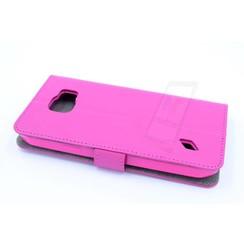 Book case voor Samsung Galaxy S6 Active  - Roze