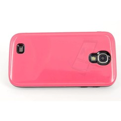 Samsung Galaxy S4 - i9505 - Luxe Stylish Flip coque - rose