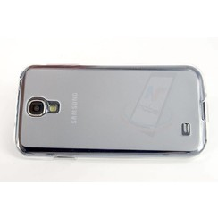 Samsung Galaxy S4 - i9505 - semi transparent Flip case - Clear
