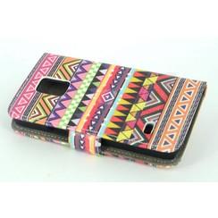Samsung Galaxy s5 Mini - G800F - Rasta Print Book case - Rasta 2