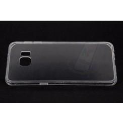 Siliconen hoesje voor Samsung Galaxy S6 Edge Plus  - Transparant