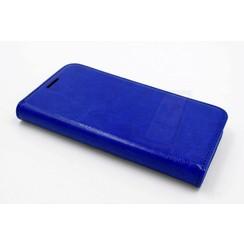 Samsung Galaxy S5 mini - G800F - Business Luxury Book case - Blue