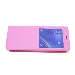 Samsung Galaxy S6 Edge+ Titulaire de la carte Rose Book type housse - Fermeture magnétique