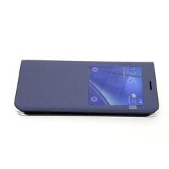 Samsung Galaxy S6 Edge+ Titulaire de la carte Bleu Book type housse - Fermeture magnétique