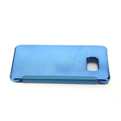 Samsung Galaxy S6 Edge+ Card holder Blue Book type case for Galaxy S6 Edge+ Magnetic closure