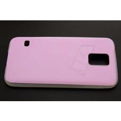 Samsung Galaxy S5 - Silicone coque - rose (8719273124222)