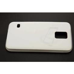 Samsung Galaxy S5 - Silicone coque - blanc (8719273124239)