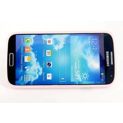 Samsung Galaxy S4 - i9505 - semi transparent Flip coque - L rose