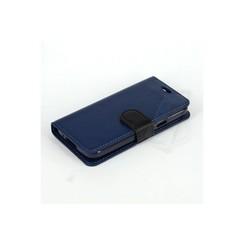 Samsung Galaxy S5 mini - G800F - Business-Siliconee  Book case - Dark Blue