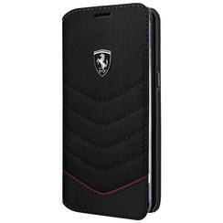 Ferrari Housse Heritage Collection pour Samsung Galaxy S8 - Noir (3700740399866)