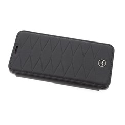 Mercedes-Benz Housse Genuine Leather pour Samsung Galaxy S8 Plus - Noir (3700740404058)