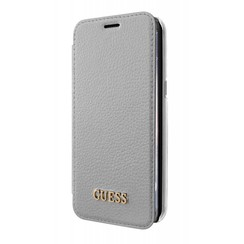 Guess Housse Iridescent Collection pour Samsung Galaxy S8 - Argent (3700740400241)
