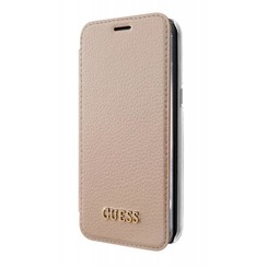 Guess Housse pour Samsung Galaxy S8 Plus - Rose Or (3700740400296)