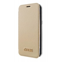 Guess Housse Iridescent Collection pour Samsung Galaxy S8 Plus - Or (3700740400210)