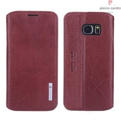 Housse coque Pierre Cardin Galaxy S6 rouge (8719273215708)