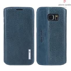 Housse coque Pierre Cardin Galaxy S6 Bleu (8719273215722)
