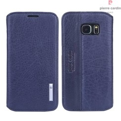 Housse coque Pierre Cardin Galaxy S6 Sapphire Bleu (8719273215739)