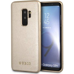 Guess silicon coque Iridescent pour Galaxy S9 Plus - Or (3700740426838)