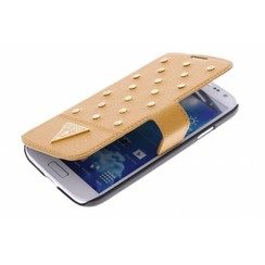 Guess Book case voor Samsung Galaxy S4 - Bruin