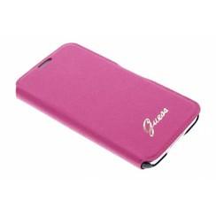 Guess Book case voor Samsung Galaxy S5 - Roze