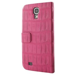 Book case Guess Ultra slim croco Galaxy S4 Pink (3700740312469)
