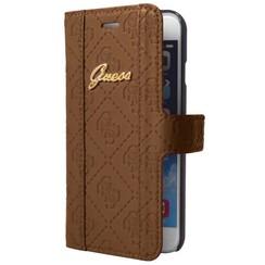 Guess Book case voor Samsung Galaxy S5 - Bruin