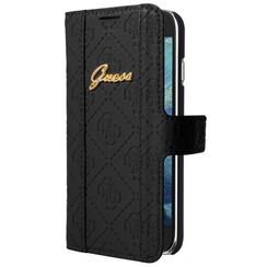 Guess Book case voor Samsung Galaxy S5 - Zwart