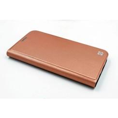Samsung Galaxy S7 Titulaire de la carte Rose Book type housse - Fermeture magnétique