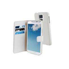 Muvit Book case voor Samsung S5-wit