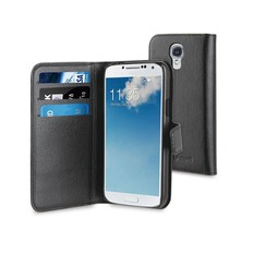 muvit Book case voor Samsung Galaxy S4 Mini  - Zwart