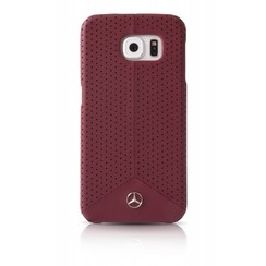 Mercedes-Benz Coque pour Samsung Galaxy S6 - Rouge (3700740364833)